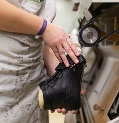 Schuhanfertigung nach Maß
