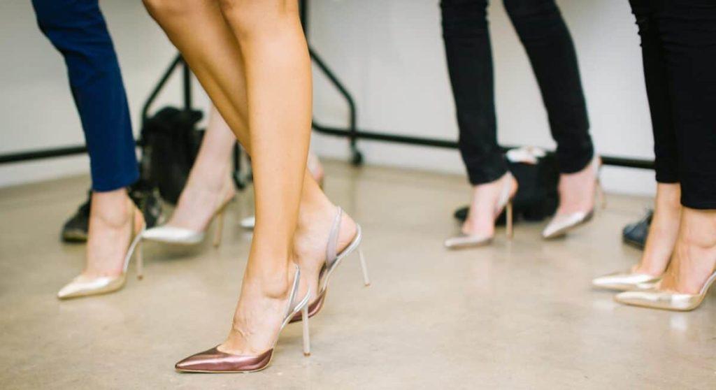 Unpassendes Schuhwerk Hallux Valgus
