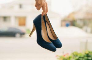 High Heels Spreizfuss